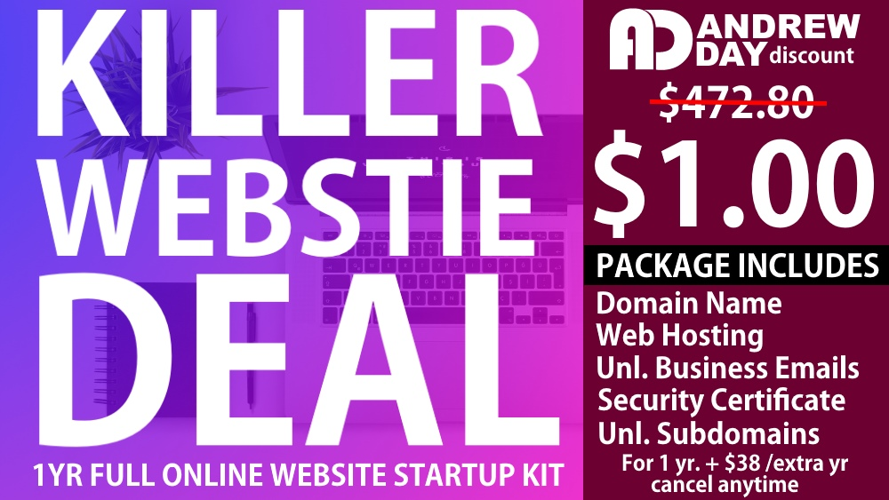 $1 For EVERYTHING – Best Web Hosting Deal on the Internet