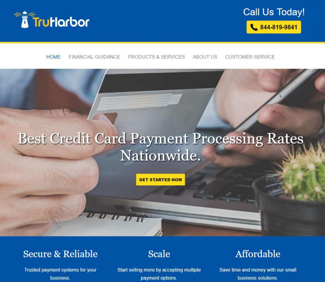 TruHarbor Credit Card Processing