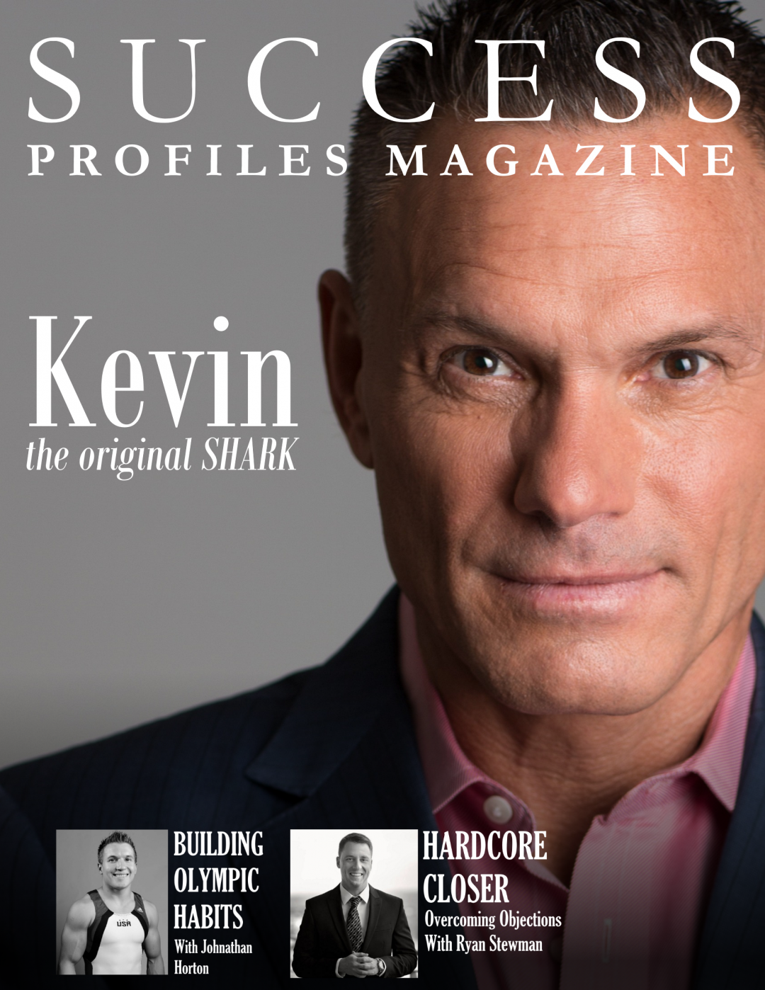 Success Profiles Magazine Cover Design